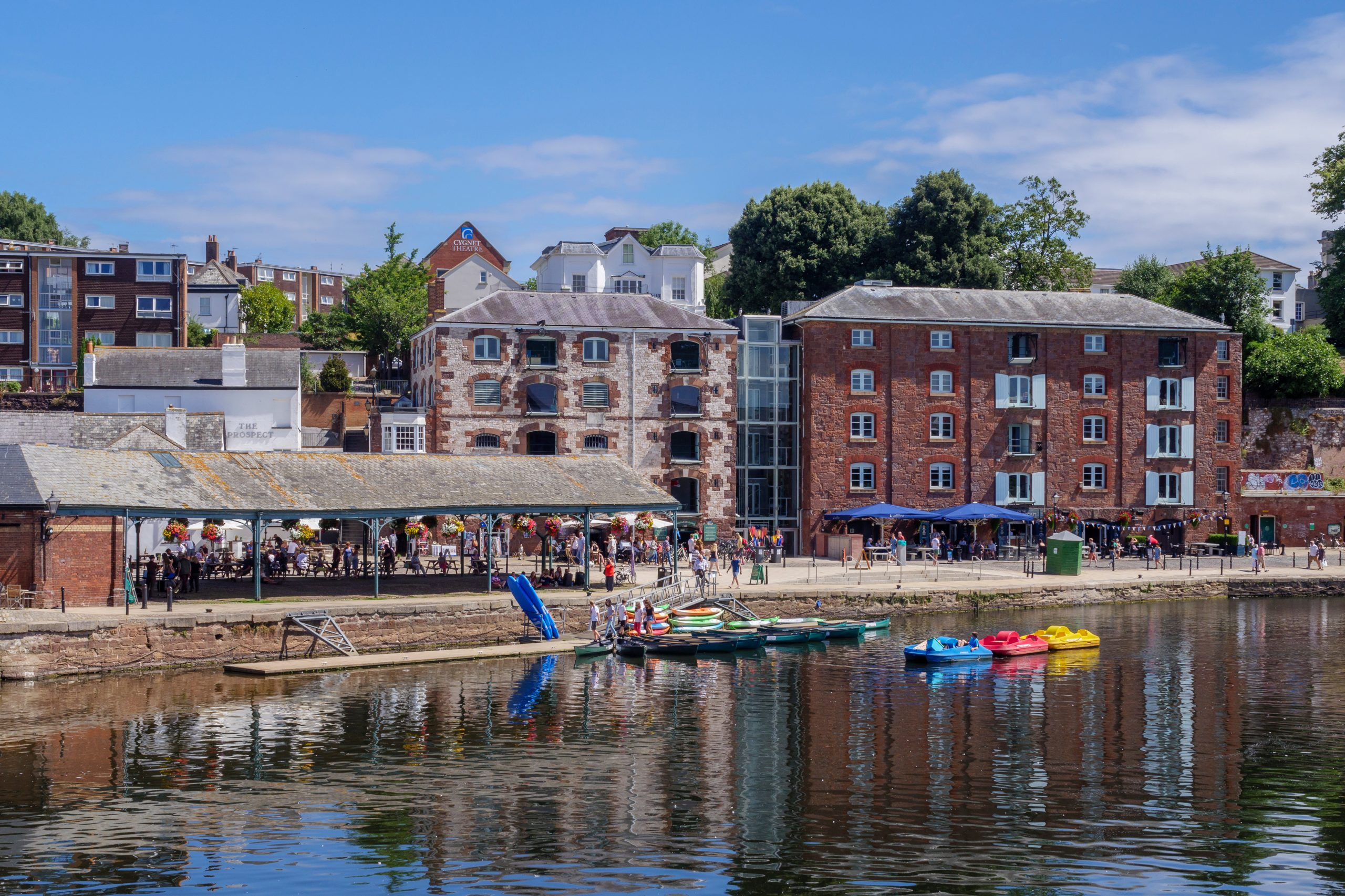 The Exeter Quay